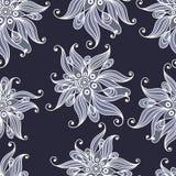 Modèle sans couture avec l'ornement floral 2 Illustration Libre de Droits