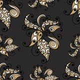 Modèle sans couture avec l'ornement floral 5 Illustration Libre de Droits