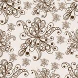 Modèle sans couture avec l'ornement floral 9 Illustration Stock