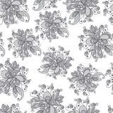Modèle sans couture avec l'ornement floral 8 Illustration Libre de Droits
