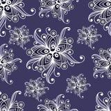 Modèle sans couture avec l'ornement floral 11 Illustration Stock