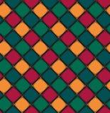 Modèle sans couture avec le losange de couleur Illustration de Vecteur