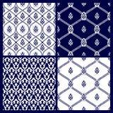 Modèle sans couture avec le motif oriental Images stock