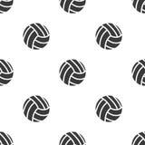 Modèle sans couture avec le volleyball Image stock