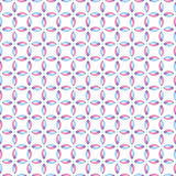 Modèle sans couture avec les courbes de intersection illustration de vecteur