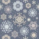 Modèle sans couture avec les flocons de neige colorés Images stock