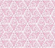 Modèle sans couture avec les ornements roses Photos stock