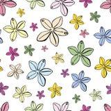 Modèle sans couture avec les perles multicolores illustration de vecteur