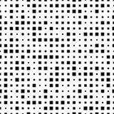 Modèle sans couture avec les places noires sur un fond blanc illustration stock