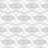 Modèle sans couture avec les vagues géométriques Texture élégante sans fin illustration libre de droits