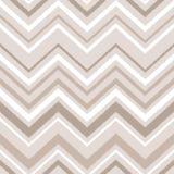 Modèle sans couture beige de chevron d'ikat de tissu abstrait géométrique brun et blanc d'ornement, vecteur Photo libre de droits