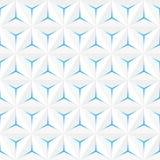Modèle sans couture blanc abstrait Esprit géométrique de fond de vecteur illustration de vecteur