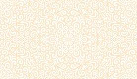 Modèle sans couture blanc d'imagination complexe illustration de vecteur
