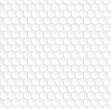 Modèle sans couture blanc hexagonal Photographie stock libre de droits