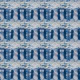 Modèle sans couture bleu céleste abstrait Fond de Skiey Photographie stock libre de droits
