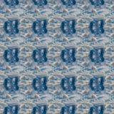 Modèle sans couture bleu céleste abstrait Fond de Skiey Photo stock