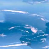 Modèle sans couture bleu céleste abstrait Fond de Skiey Image stock