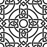 Modèle sans couture celtique Photos libres de droits