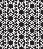 Modèle sans couture celtique d'intersecter des formes géométriques Images libres de droits