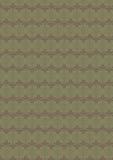 Modèle sans couture classique floral vert boueux Image libre de droits