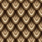 Modèle sans couture coloré avec des motifs naturels illustration de vecteur