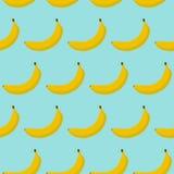 Modèle sans couture coloré des bananes Photographie stock libre de droits