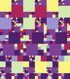 Modèle sans couture coloré lumineux abstrait Vecteur Images libres de droits