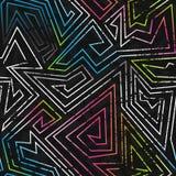 Modèle sans couture coloré par spectre Photos libres de droits