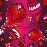 Modèle sans couture courant de Paisley pour imprimer sur le papier, ouvrier illustration stock