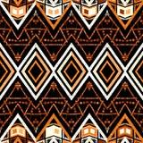 Modèle sans couture décoratif géométrique Photos libres de droits