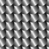 Modèle sans couture d'échelle en métal Photo stock