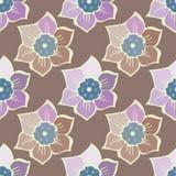 Modèle sans couture d'été avec des fleurs de ressort Photographie stock
