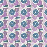 Modèle sans couture d'été avec des fleurs de ressort Illustration Stock