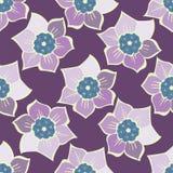 Modèle sans couture d'été avec des fleurs de ressort Illustration de Vecteur