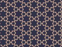 modèle sans couture d'étoiles géométriques Conception graphique de mode Illustration de vecteur Conception de fond Bakground asia Image stock
