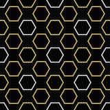 Modèle sans couture d'abeille royale illustration libre de droits