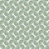 Modèle sans couture d'abrégé sur fleur de vecteur Art Deco Style Background Texture géométrique Photos stock
