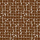 Modèle sans couture d'abrégé sur géométrique lettres Marque avec des lettres le fond d'alphabet Composition colorée en formes, co illustration libre de droits
