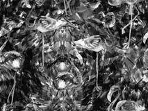 Modèle sans couture d'abrégé sur kaléidoscope de Boho Illustration Stock