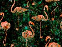 Modèle sans couture d'abrégé sur kaléidoscope de Boho Illustration Libre de Droits