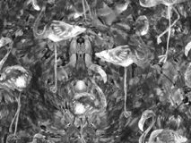 Modèle sans couture d'abrégé sur kaléidoscope de Boho Illustration de Vecteur