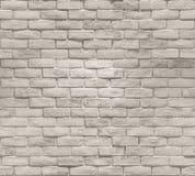 Modèle sans couture d'abrégé sur mur de briques image libre de droits