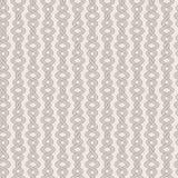Modèle sans couture d'abrégé sur vecteur des cordes tordues Images libres de droits