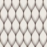 Modèle sans couture d'abrégé sur vecteur des vagues Images stock