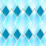 Modèle sans couture d'abrégé sur vitreux bleu effet illustration stock