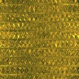 Modèle sans couture d'aluminium d'or photographie stock