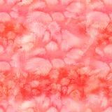 Modèle sans couture d'aquarelle abstraite avec les lavages colorés du pai Image stock