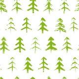 Modèle sans couture d'arbre sale de chrismas Image libre de droits