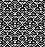 Modèle sans couture d'art déco de vecteur Texture décorative florale géométrique Photos libres de droits