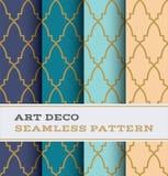 Modèle sans couture 37 d'Art Deco Photo libre de droits